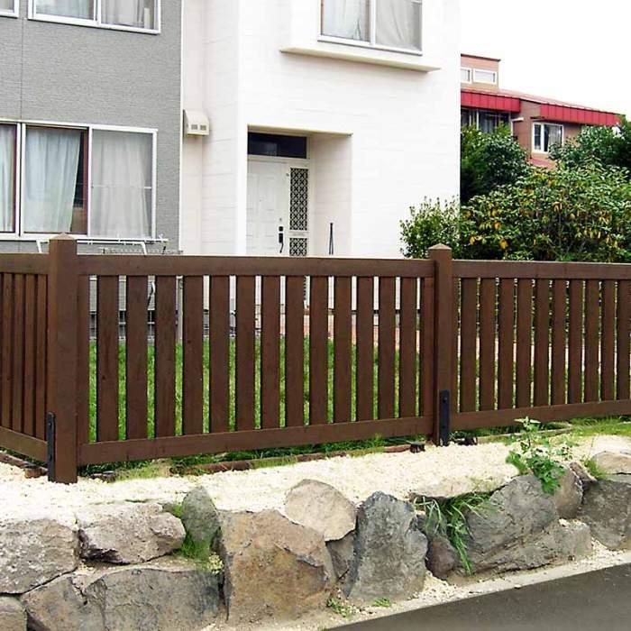 タカショー木フェンス1